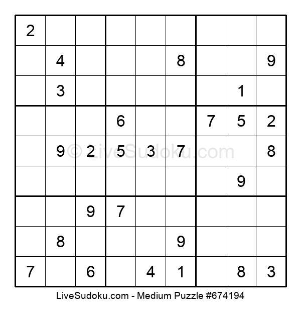 Medium Puzzle #674194