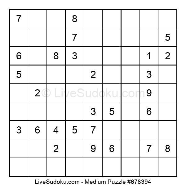Medium Puzzle #678394