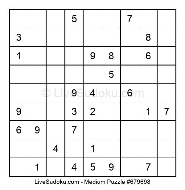 Medium Puzzle #679698