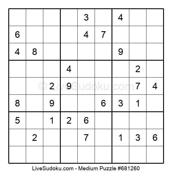 Medium Puzzle #681260