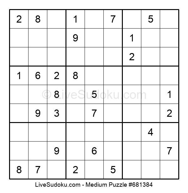 Medium Puzzle #681384