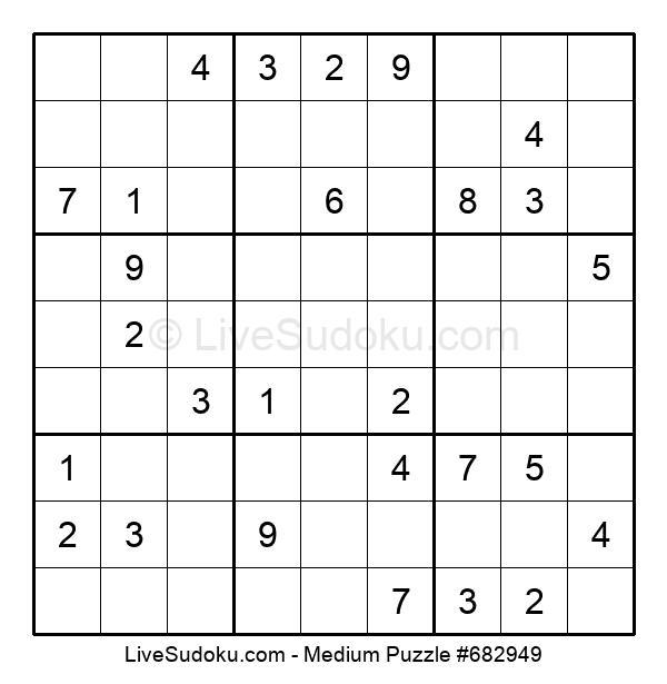 Medium Puzzle #682949