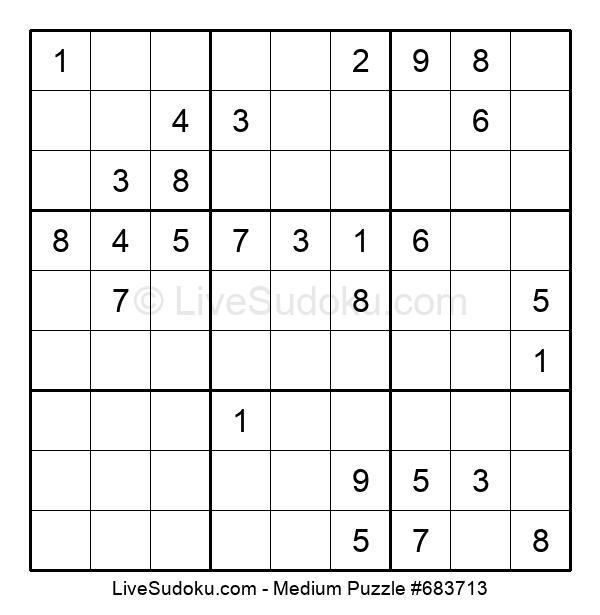 Medium Puzzle #683713