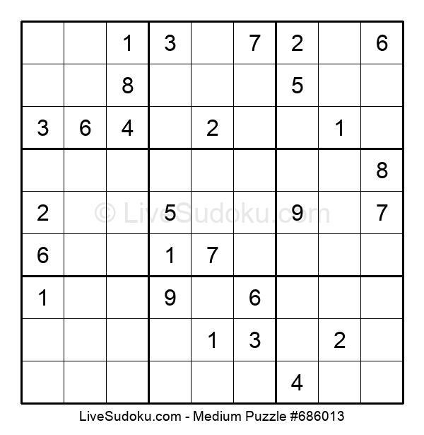 Medium Puzzle #686013