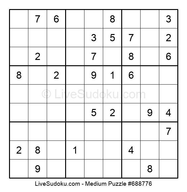 Medium Puzzle #688776