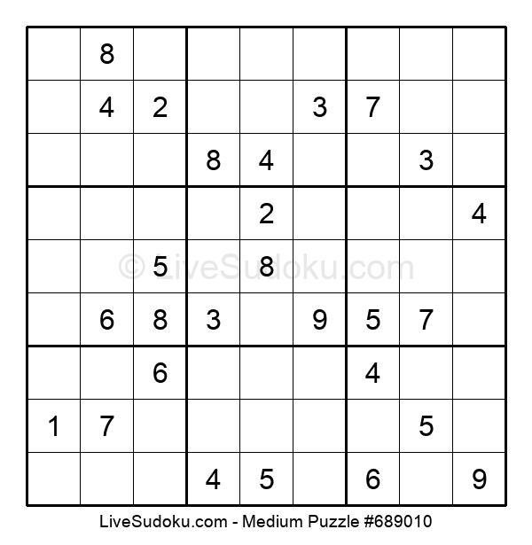 Medium Puzzle #689010