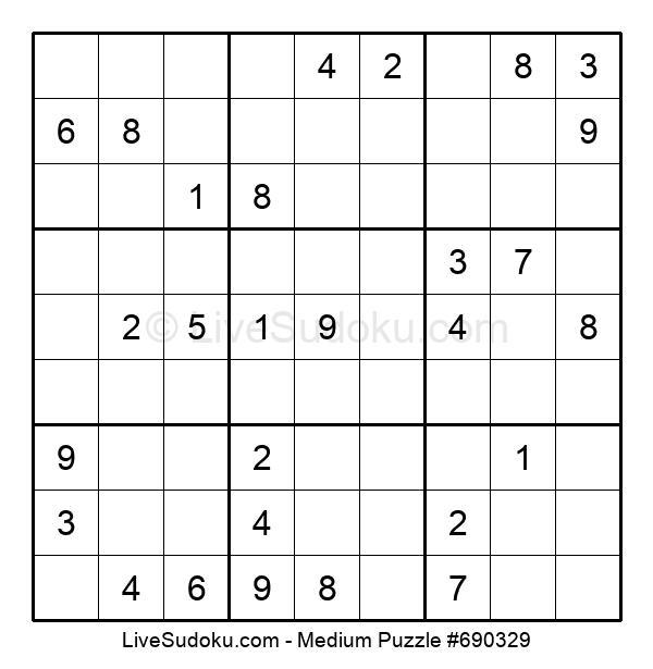Medium Puzzle #690329
