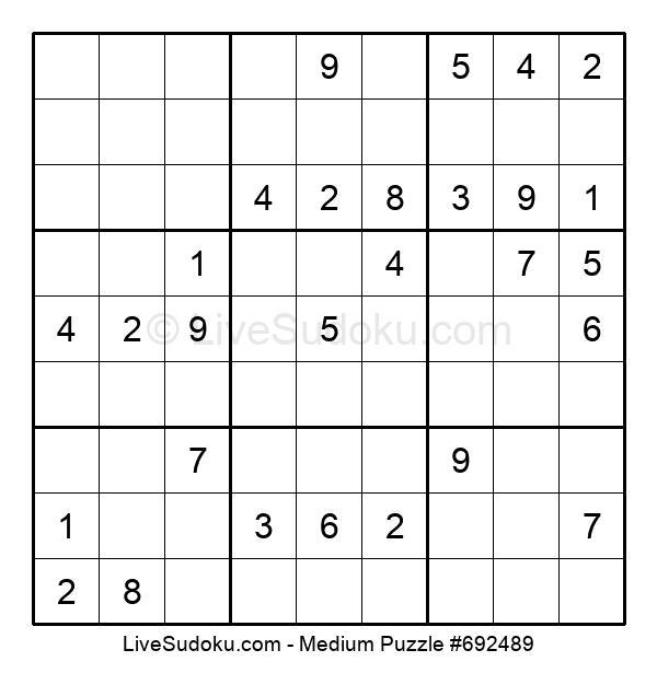 Medium Puzzle #692489