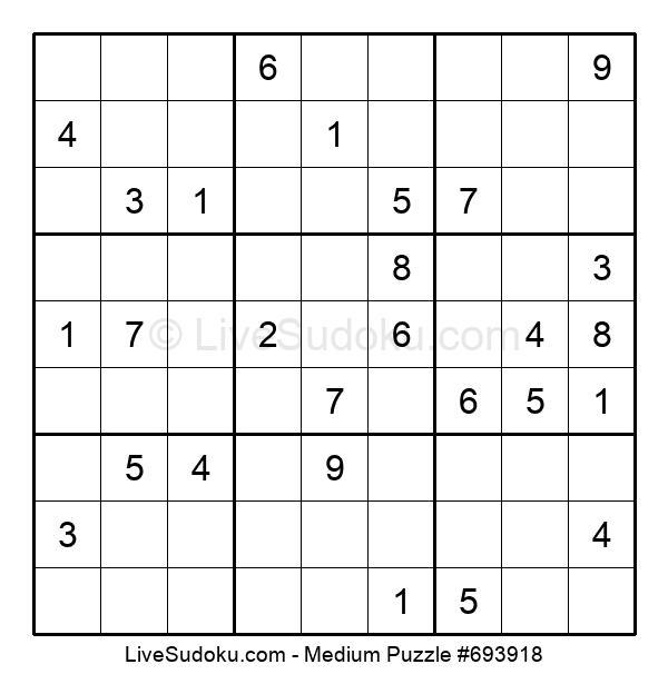Medium Puzzle #693918