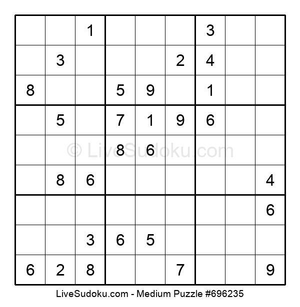 Medium Puzzle #696235