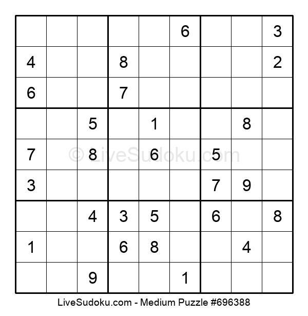Medium Puzzle #696388