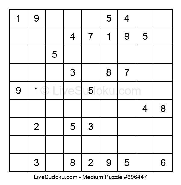 Medium Puzzle #696447