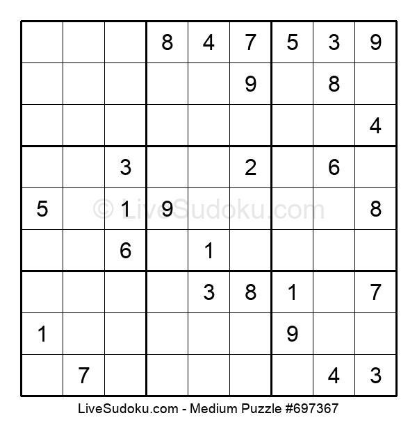 Medium Puzzle #697367