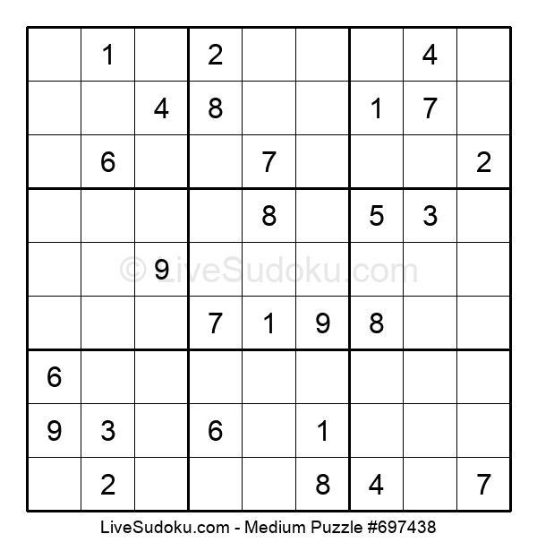 Medium Puzzle #697438