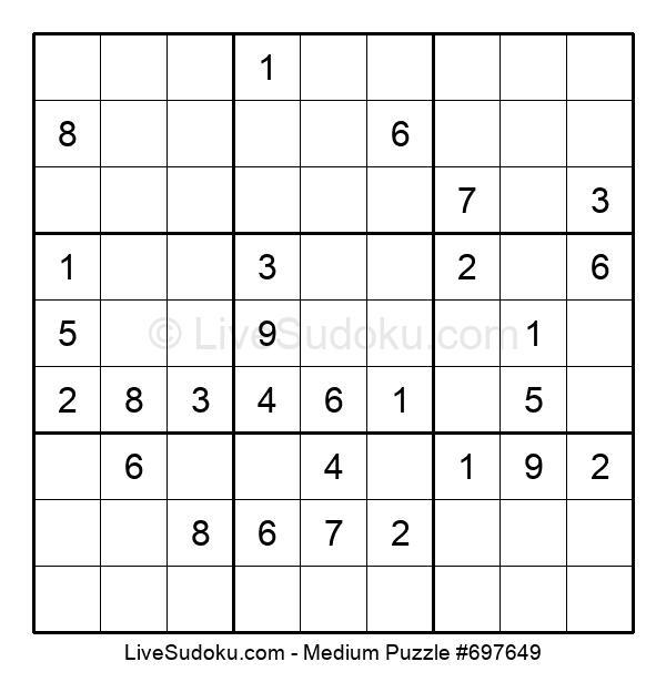 Medium Puzzle #697649