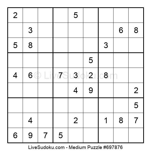 Medium Puzzle #697876