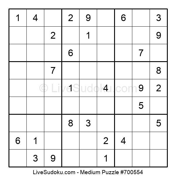 Medium Puzzle #700554