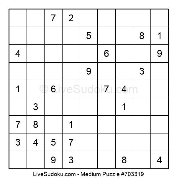 Medium Puzzle #703319