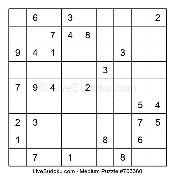 Medium Puzzle #703360