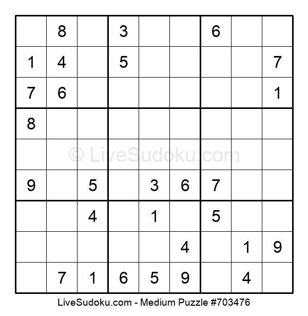 Medium Puzzle #703476