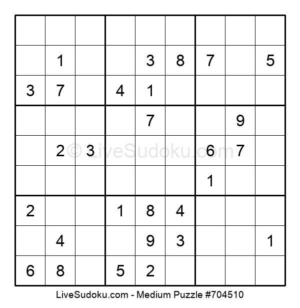Medium Puzzle #704510
