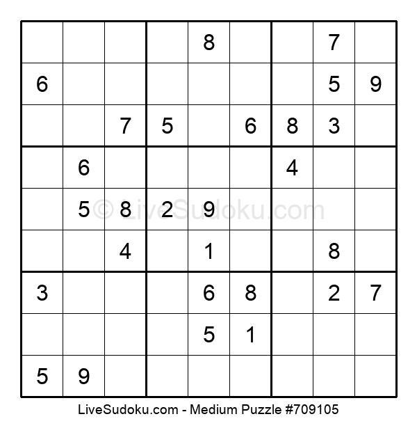Medium Puzzle #709105