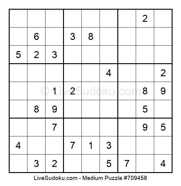 Medium Puzzle #709458