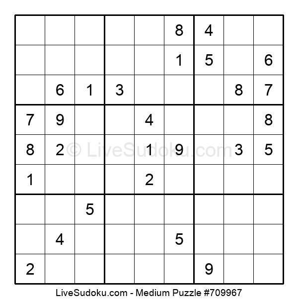 Medium Puzzle #709967