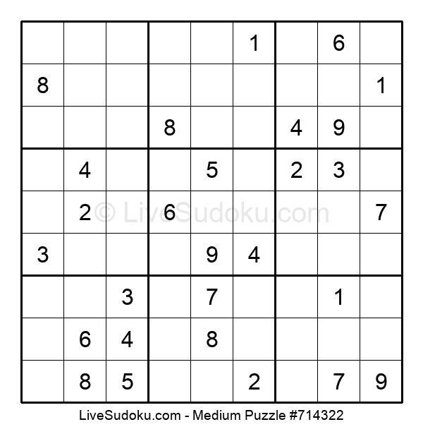 Medium Puzzle #714322