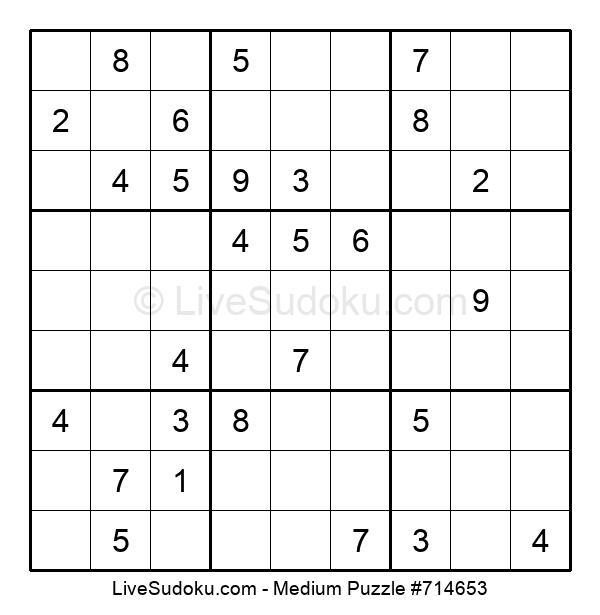 Medium Puzzle #714653