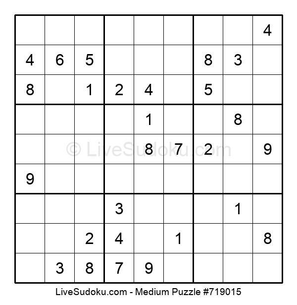 Medium Puzzle #719015