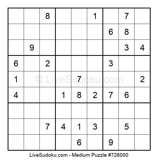 Medium Puzzle #726000