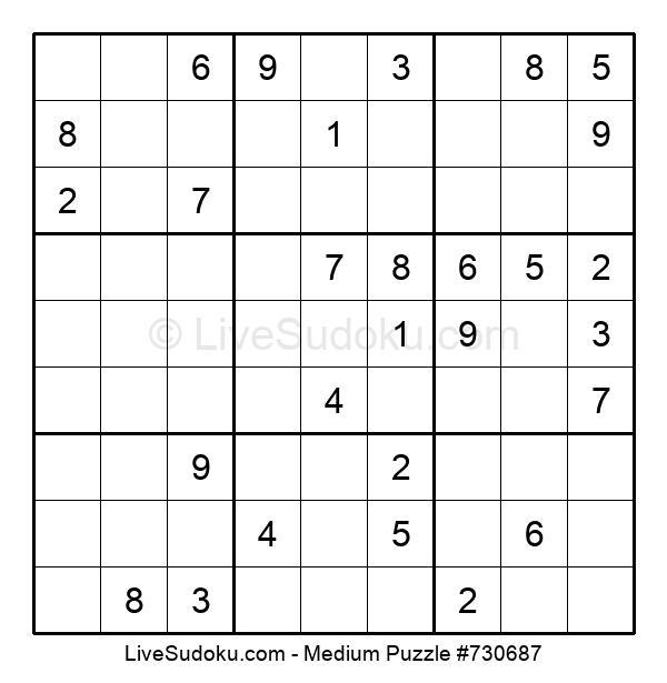 Medium Puzzle #730687