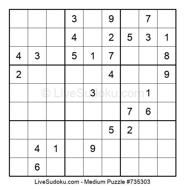 Medium Puzzle #735303