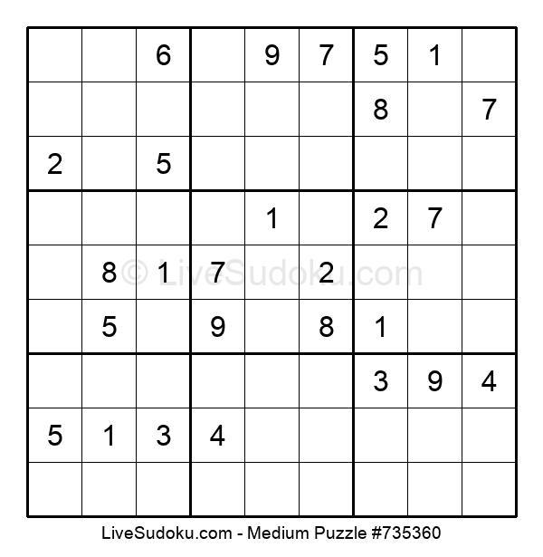 Medium Puzzle #735360