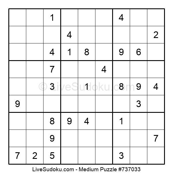 Medium Puzzle #737033