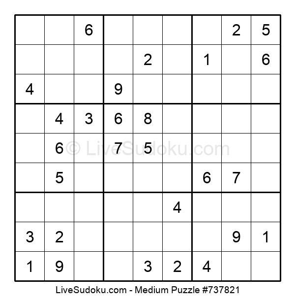 Medium Puzzle #737821