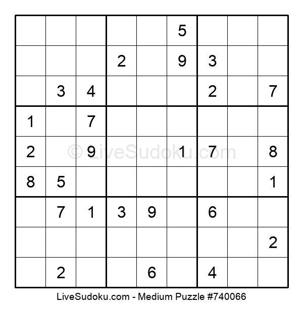 Medium Puzzle #740066