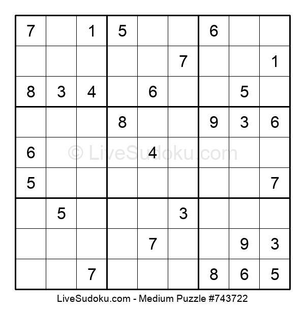 Medium Puzzle #743722