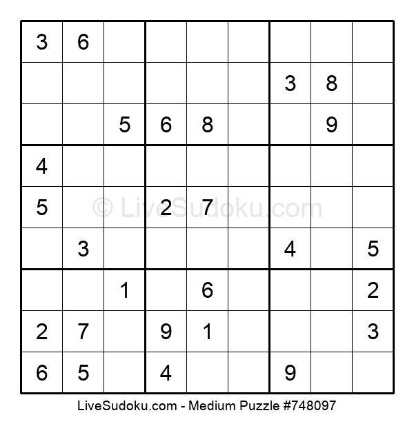 Medium Puzzle #748097