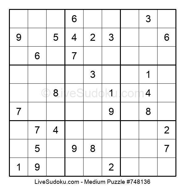 Medium Puzzle #748136
