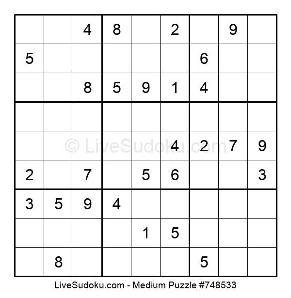 Medium Puzzle #748533