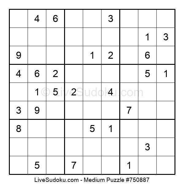 Medium Puzzle #750887