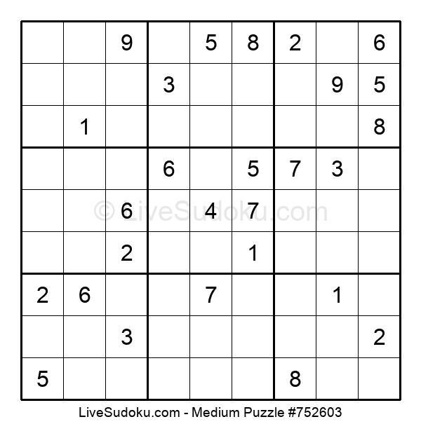 Medium Puzzle #752603
