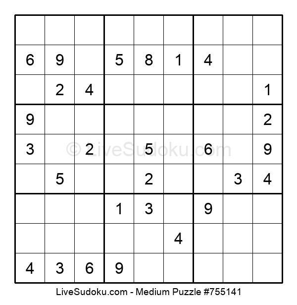 Medium Puzzle #755141