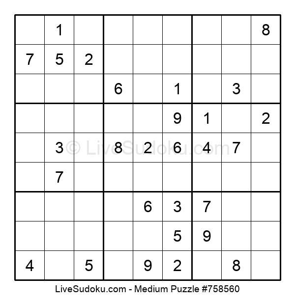 Medium Puzzle #758560