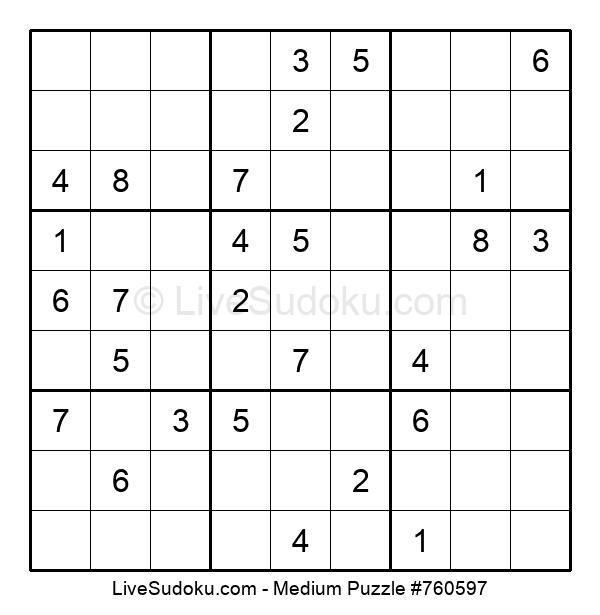Medium Puzzle #760597