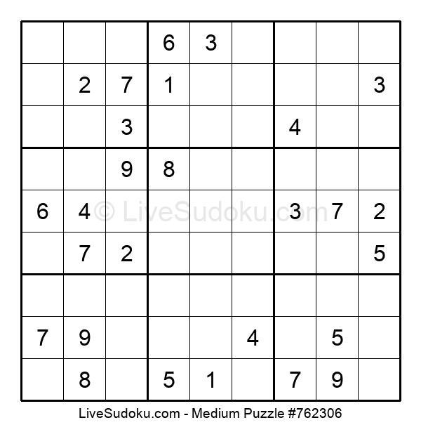 Medium Puzzle #762306