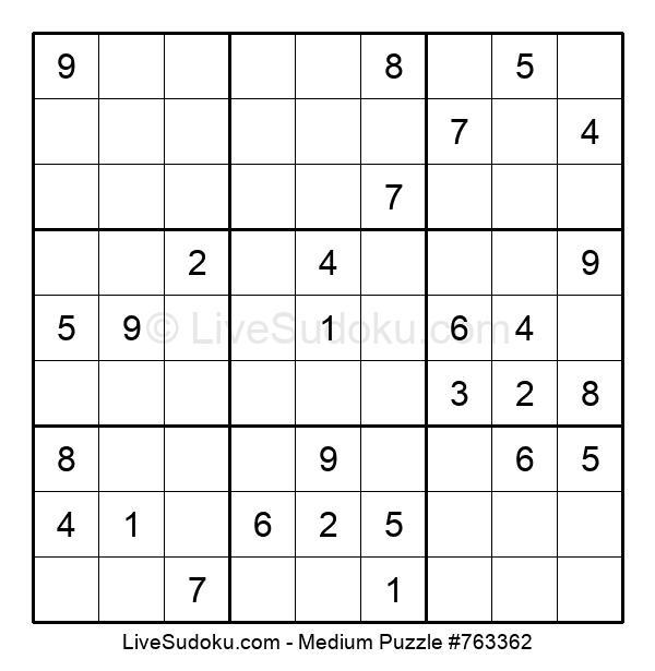Medium Puzzle #763362