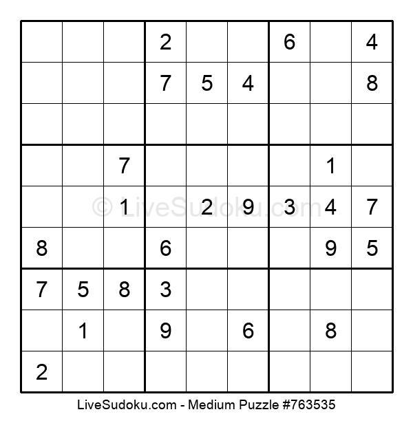 Medium Puzzle #763535